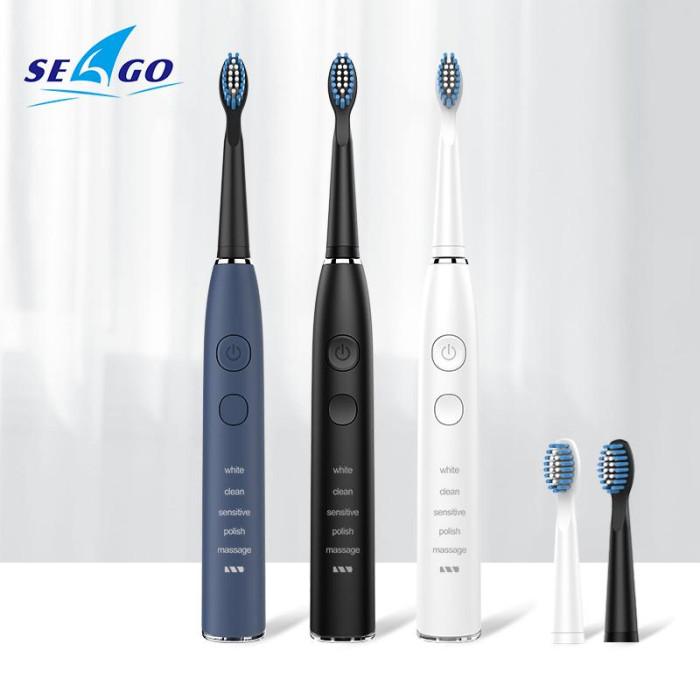 Seago SG-575 Електрична зубна щітка, синя