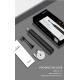 SEAGO SG-972 ультразвукова зубна щітка, чорна