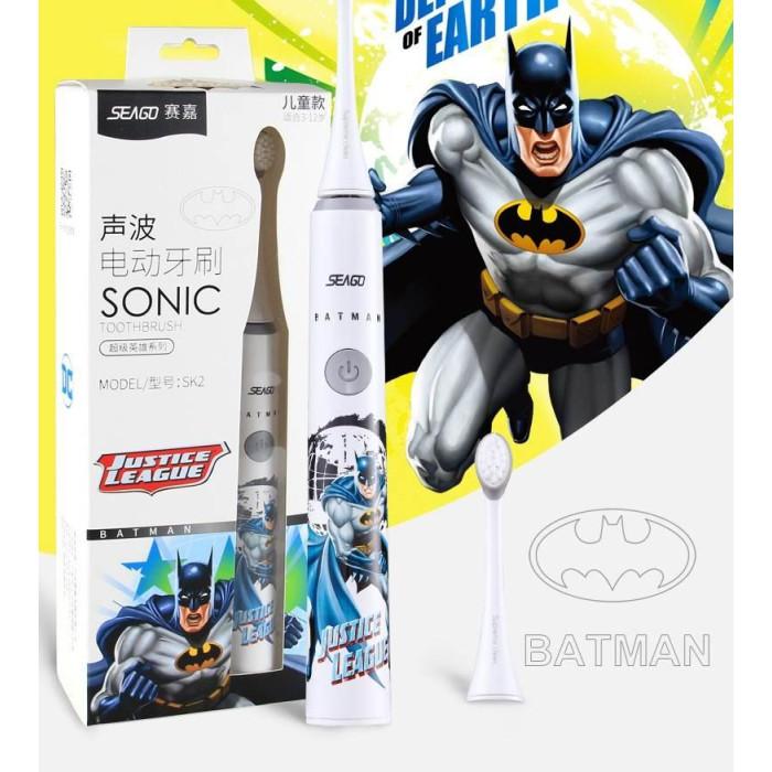 Seago SK2 Batman ультразвукова зубна щітка для дітей від 3 до 12 років