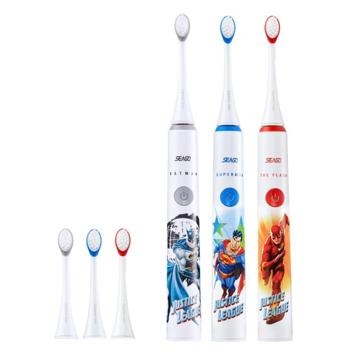 Seago SK2 Superman ультразвукова зубна щітка для дітей від 3 до 12 років