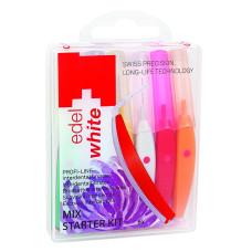 Щітки Profi-Line для міжзубних проміжків Edel White MIX, 6шт