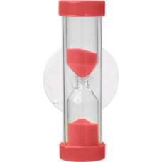 Skandia Denta песочные часы - таймер для чистки зубов, 2 мин, Красный