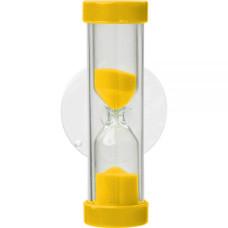 Skandia Denta пісочний годинник - таймер для чищення зубів, 2 хв, Жовтий