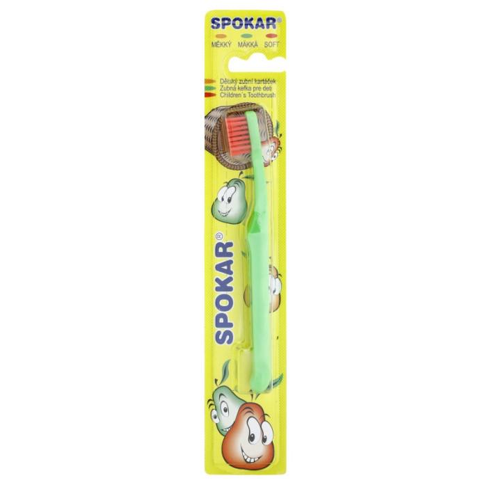 SPOKAR Kids дитяча зубна щітка мяка