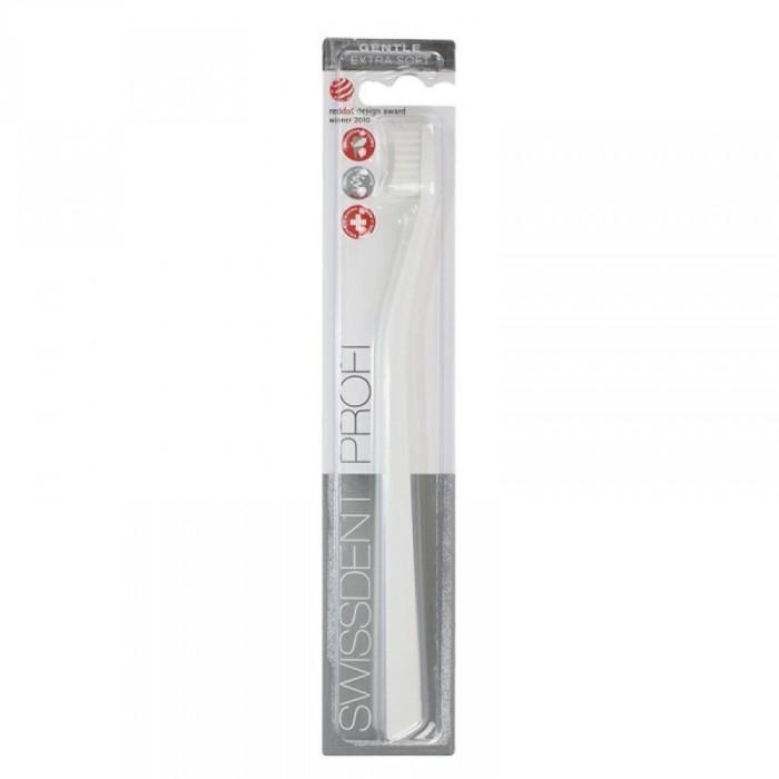 Swissdent Profi Gentle Extra Soft Зубна щітка, біла