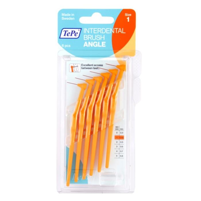 TEPE Interdental Brush Angle 0,45 мм міжзубні щіточки 6 шт