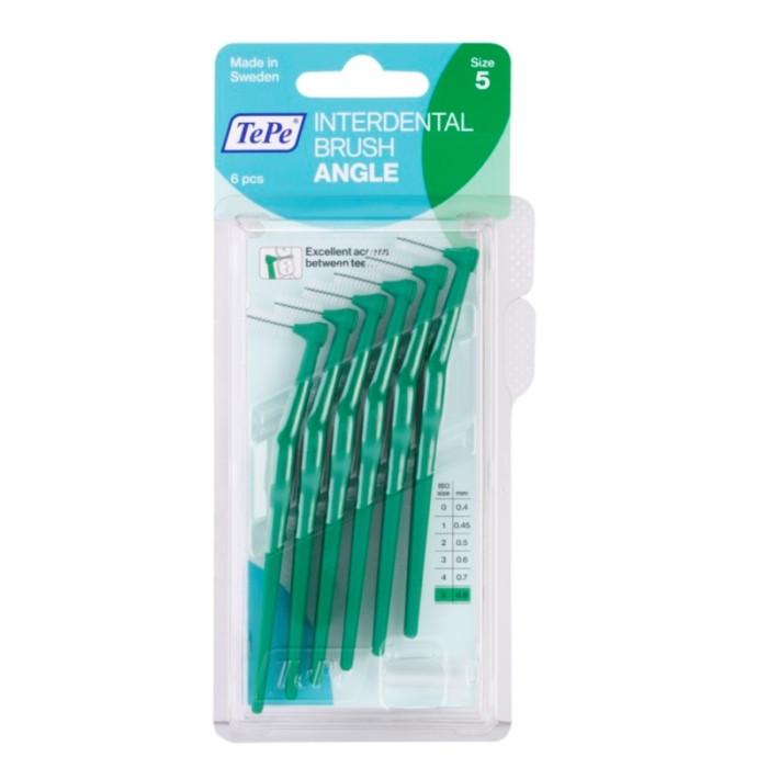 TEPE Interdental Brush Angle 0,8 мм міжзубні щіточки 6 шт