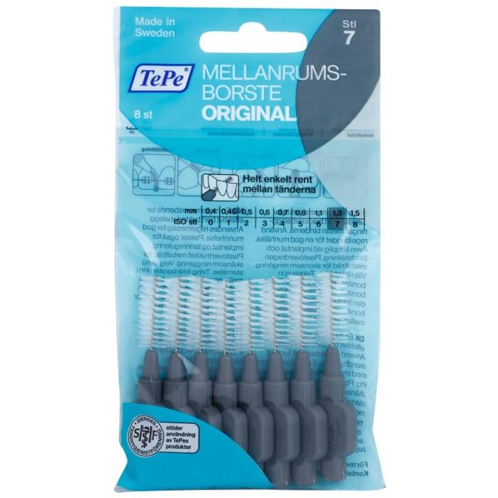 TEPE Interdental Brush Original 1,3 мм міжзубні щіточки 8 шт