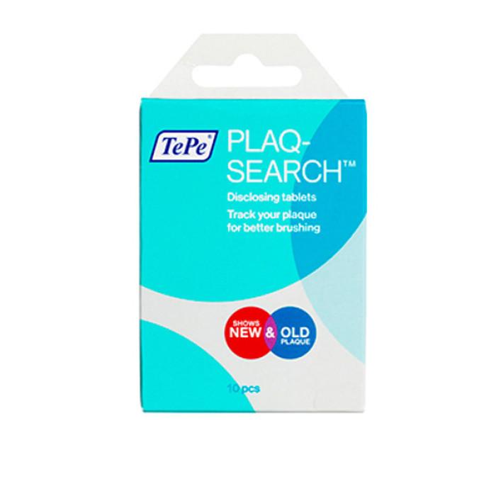 TePe plaq search таблетки для індикації зубного нальоту, 10 шт