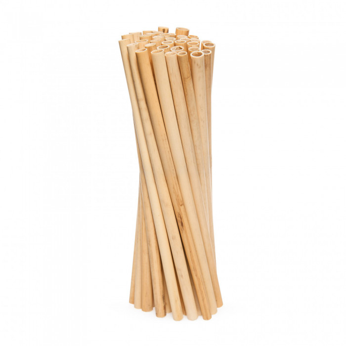 Yes Straws Трубочки для напоїв з очерету довгі Large, 50 шт.
