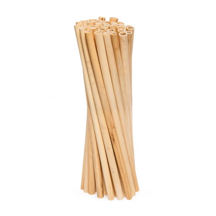 Yes Straws Трубочки для напоїв з очерету довгі Medium, 50 шт.