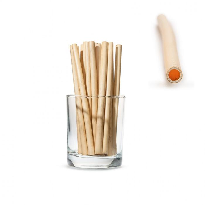 Yes Straws Трубочки для напоїв з очерету довгі Small, 50 шт.