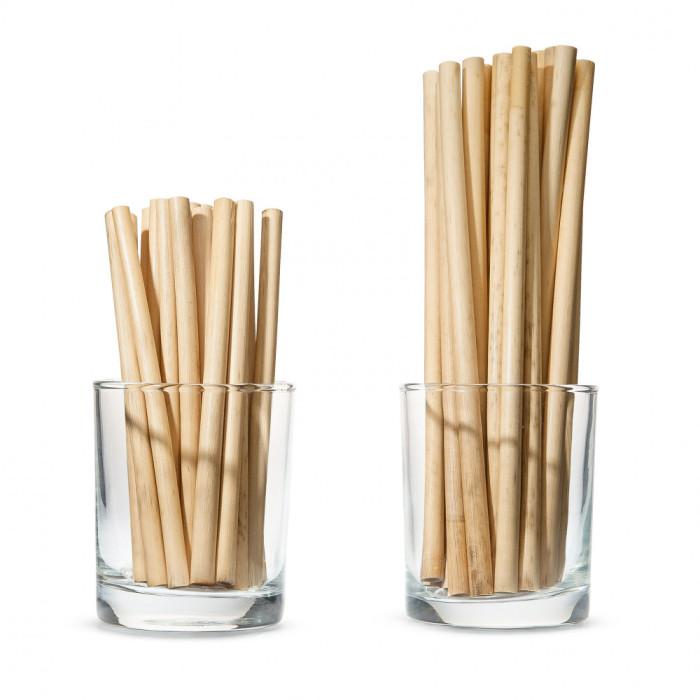 Yes Straws Трубочки для напоїв з очерету короткі Small, 250 шт.
