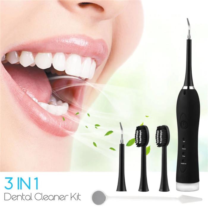Ультразвукова зубна щітка-скалер для видалення зубного нальоту