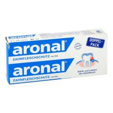 Aronal Зубна паста з вітаміном А і цинком, 2x75 мл