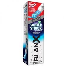 Зубна паста BlanX White Shock з Led ковпачком