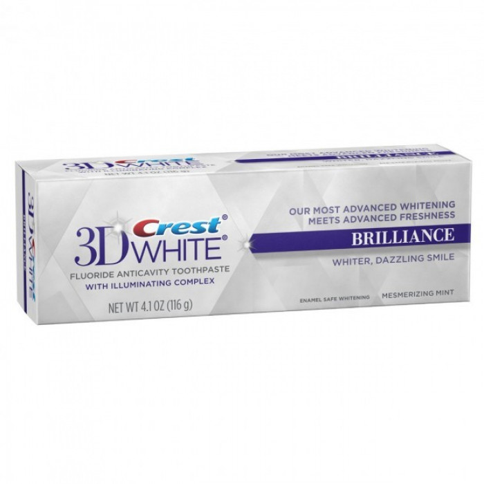 Зубна паста Crest 3D White Brilliance